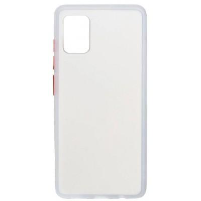 Накладка Gingle Matte Case для Samsung A51 (A515 2020) White-Red