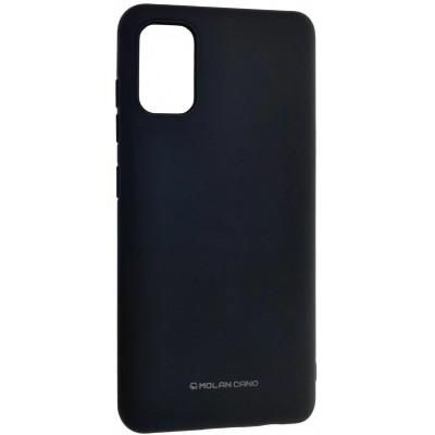 Накладка Molan Cano Smooth для Samsung A315 (A31) TPU Black