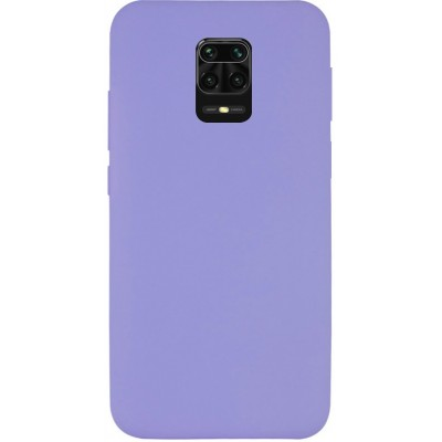 Накладка Silicone Cover для Xiaomi Redmi Note 9sNote 9 Pro Silky&Soft Touch Dasheen