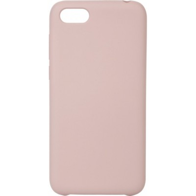 Накладка Silicone Cover для Huawei Y5 2018Honor 7A Silky&Soft Touch Pink Sand