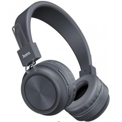Навушники Bluetooth Hoco W25 Wireless Grey