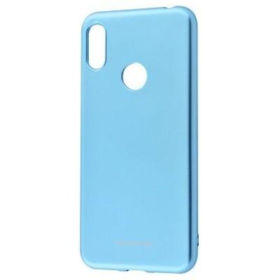 Накладка MOLAN CANO Glossy Jelly Case Huawei Y6 2019Honor 8A Marsala