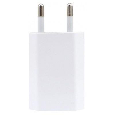 Мережевий зарядний пристрій iPhone + кабель Lightning (5W) White
