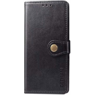 Чохол-книжка GETMAN Gallant (PU) для Xiaomi Redmi Note 9 Black