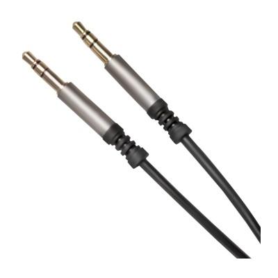 Подовжувач XO NB121 (3,5мм на 3,5мм) 1м Black