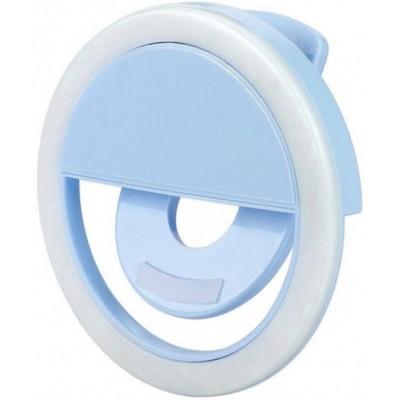 Селфі кільце для телефону Selfie Ring Light RK-12 Blue