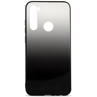 Накладка Glass Case Shine Gradient для Xiaomi Redmi Note 8 Steel Grey