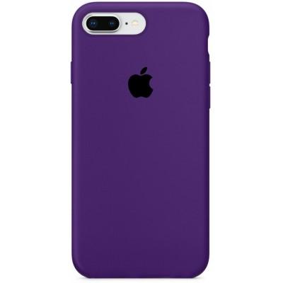 Накладка Silicone Case для iPhone 78 Plus Purple
