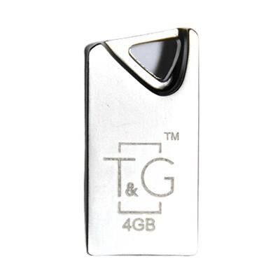 Флеш память 4Gb T&G 109 Metal Series Silver (TG109-4G)
