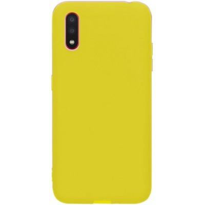 Накладка Silicone Cover Full для Samsung M307 (M30s)M215 (M21) Neon Yellow