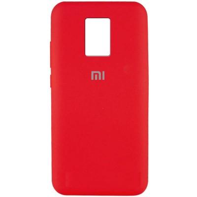 Накладка Silicone Cover Full для Xiaomi Redmi Note 9 Red
