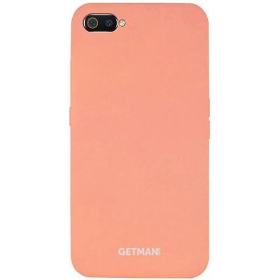 Накладка Silicone Cover GETMAN для Realme C2 Flamingo