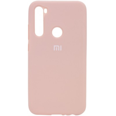 Накладка Silicone Cover Full для Xiaomi Redmi Note 8T Pink Sand