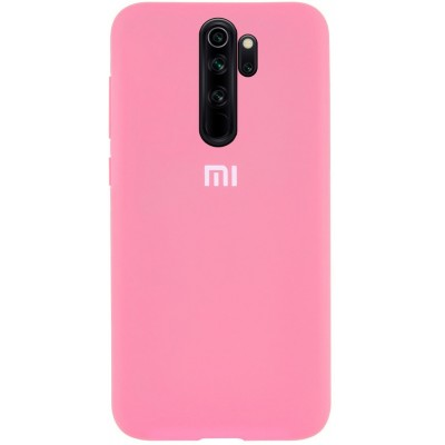 Накладка Silicone Cover для Xiaomi Redmi Note 8 Pro Silky&Soft Touch Cotton Candy