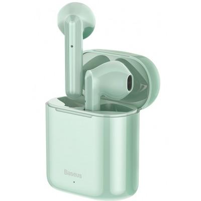 Навушники Bluetooth Baseus Encok W09 TWS Green