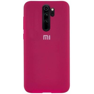 Накладка Silicone Case Full для Xiaomi Redmi 9A Hot Pink
