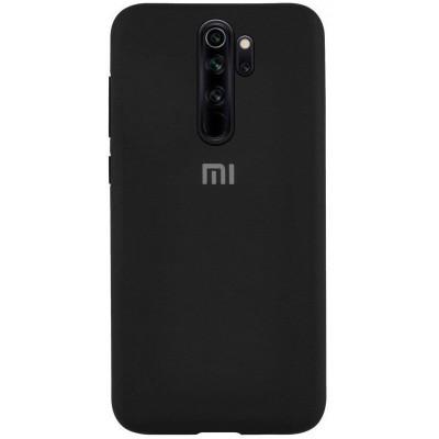 Накладка Silicone Case Full для Xiaomi Redmi 9A Black
