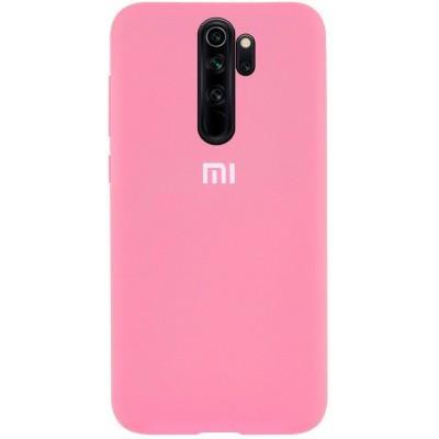 Накладка Silicone Case Full для Xiaomi Redmi 9A Pink