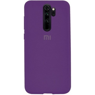 Накладка Silicone Case Full для Xiaomi Redmi 9A Purple