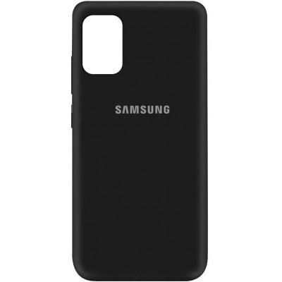 Накладка Silicone Cover Full для Samsung A315 (A31) Black