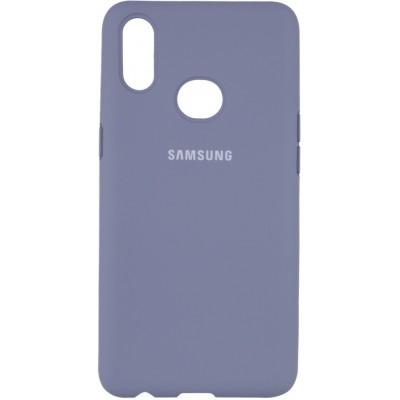 Накладка Silicone Cover Full для Samsung A107 (A10s) Lavander