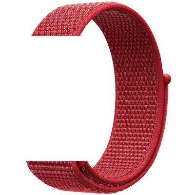Ремінець Nylon для Xiaomi AmazfitSamsung 20mm Dark Red