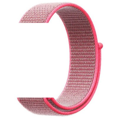 Ремінець Nylon для Xiaomi AmazfitSamsung 20mm Pink