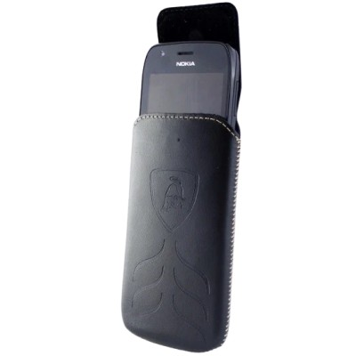 Чохол Lamborghini колба Nokia 105 Black