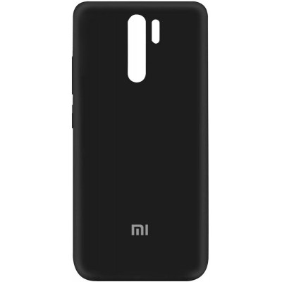 Накладка Silicone Cover Full для для Xiaomi Redmi 9 Black