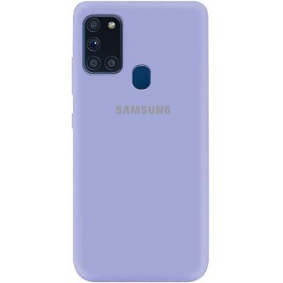 Накладка Silicone Cover Full для Samsung Galaxy A21s Dasheen