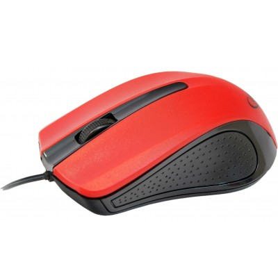 Мишка Gembird MUS-101-R Black-Red