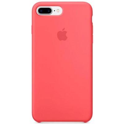 Накладка Silicone Case Full для iPhone 78 Plus Camellia