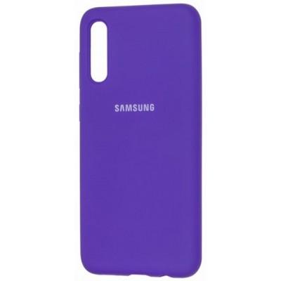 Накладка Silicone Case Full для Samsung A115M115 Violet