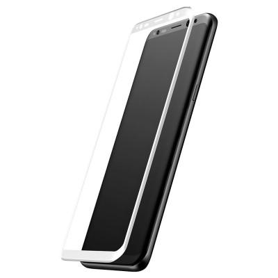 Захисне скло 3D Arc Baseus Samsung G955 (S8 Plus) White