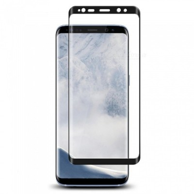 Захисне скло 5D Full Glue Samsung G965 (S9 Plus) Black