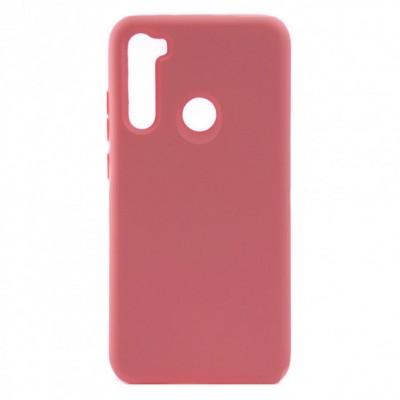 Накладка Matte Soft Case для Xiaomi Redmi Note 8 Pink