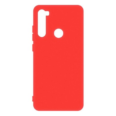 Накладка Matte Soft Case для Xiaomi Redmi Note 8T Red