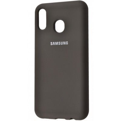 Накладка Silicone Cover для Samsung A305/A205 Silky&Soft Touch Dark Olive