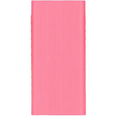 Чохол силікон для Xiaomi Mi 2 Power Bank 10000mAh Pink