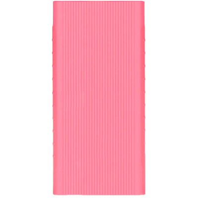 Чохол силікон для Xiaomi Mi 2 Power Bank 20000mAh Pink