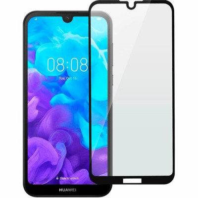 Захисне скло Huawei Y5 2019/Honor 8S 3D Black
