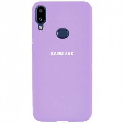 Накладка Silicone Cover для Samsung A107 (A10s 2019) Silky&Soft Touch Dasheen