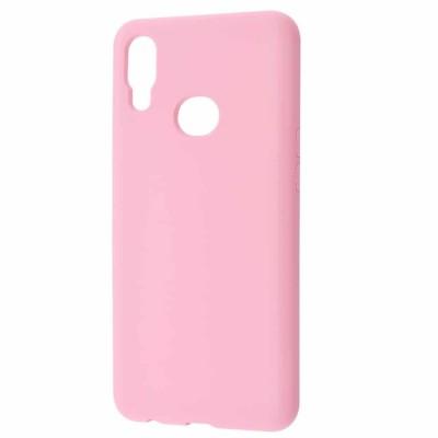 Накладка Soft Touch для Samsung A107 (A10s 2019) Pink
