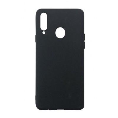 Накладка Soft Touch для Samsung A207 (A20s 2019) Black
