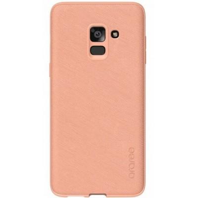 Чохол Araree Silicon Cover Samsung A730 (A8+ 2018) GP-A730KDCPBAC Prime Flamingo