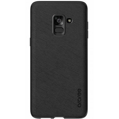 Чохол Araree Silicon Cover Samsung A730 (A8+ 2018) GP-A730KDCPBAA Black