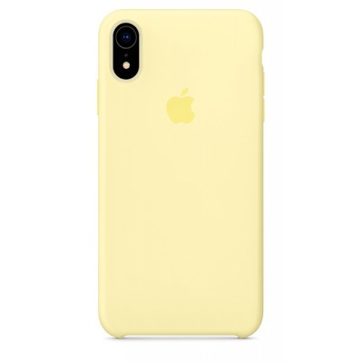 Накладка Silicone Case HC для iPhone XR Mellow Yellow