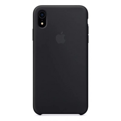 Накладка Silicone Case для iPhone XR Black