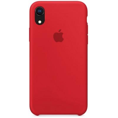 Накладка Silicone Case для iPhone XR Red