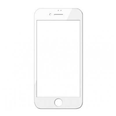 Захисне скло 3D Baseus iPhone 7/8 0,3mm Anti-Blue White
